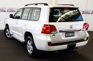 2012 Toyota Landcruiser VDJ200R MY12 Altitude (4x4) Crystal Pearl 6 Speed Automatic Wagon.