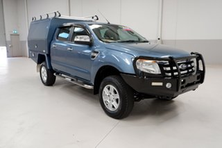 2014 Ford Ranger PX XLT Double Cab Blue 6 Speed Manual Utility