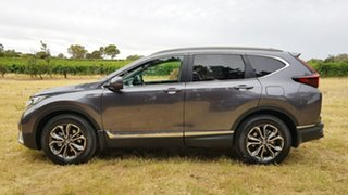 2020 Honda CR-V RW MY21 VTi FWD L7 Modern Steel 1 Speed Automatic Wagon