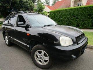 2000 Hyundai Santa Fe GLS (4x4) 4 Speed Automatic Wagon.