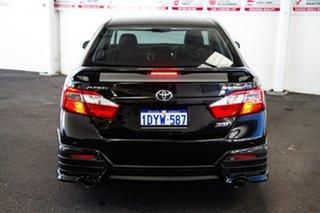 2012 Toyota Aurion GSV50R Sportivo ZR6 Dynamic Black 6 Speed Automatic Sedan