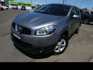 2011 Nissan Dualis J10 Series II ST (4x2) Grey 6 Speed CVT Auto Sequential Wagon.