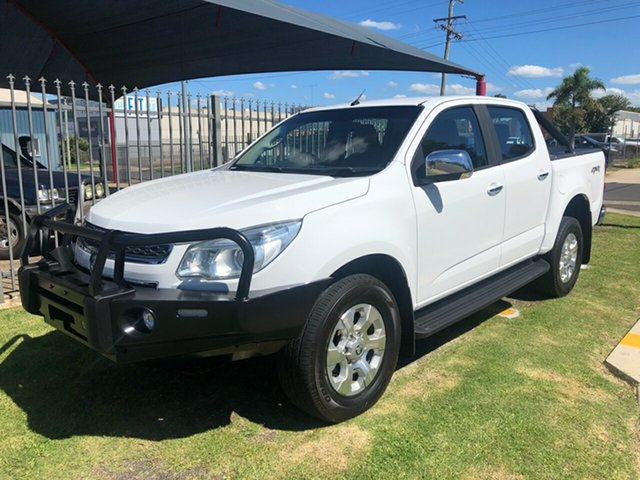 Used Holden Colorado RG MY15 LTZ (4x4) Toowoomba, 2014 Holden Colorado RG MY15 LTZ (4x4) White 6 Speed Manual Crew Cab Pickup