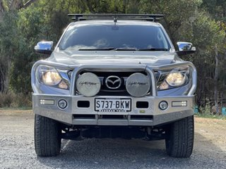 2016 Mazda BT-50 UR0YF1 GT Silver 6 Speed Sports Automatic Utility.