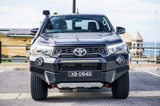 2018 Toyota Hilux GUN126R Rugged X Double Cab Grey 6 Speed Sports Automatic Utility
