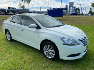 2015 Nissan Pulsar B17 Series 2 ST White 1 Speed Constant Variable Sedan.