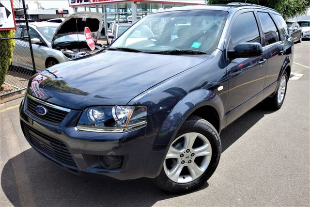 Used Ford Territory SY MkII TX Seaford, 2010 Ford Territory SY MkII TX Grey 4 Speed Sports Automatic Wagon