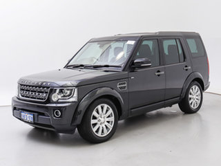 2014 Land Rover Discovery MY14 3.0 TDV6 Causeway Grey 8 Speed Automatic Wagon.