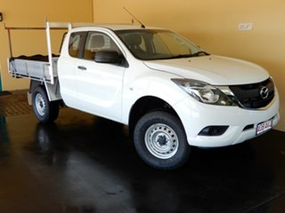 2015 Mazda BT-50 MY16 XT (4x4) White 6 Speed Automatic Freestyle Cab Chassis