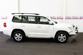 2012 Toyota Landcruiser VDJ200R MY12 Altitude (4x4) Crystal Pearl 6 Speed Automatic Wagon