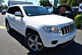 2011 Jeep Grand Cherokee WK MY2011 Limited White 5 Speed Sports Automatic Wagon.