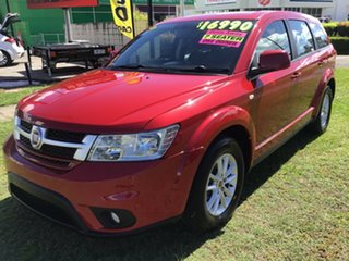 2014 Fiat Freemont JF Base Red 6 Speed Automatic Wagon.