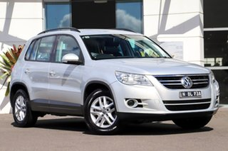 2010 Volkswagen Tiguan 5N MY10 125TSI 4MOTION Silver, Chrome 6 Speed Sports Automatic Wagon.