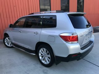 2012 Toyota Kluger GSU40R MY12 Grande 2WD Silver 5 Speed Sports Automatic Wagon.
