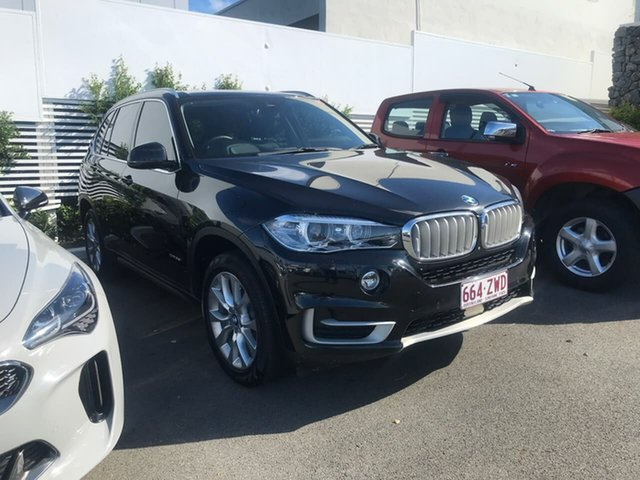 Used BMW X5 F15 xDrive35i Mount Gravatt, 2016 BMW X5 F15 xDrive35i Black 8 Speed Sports Automatic Wagon