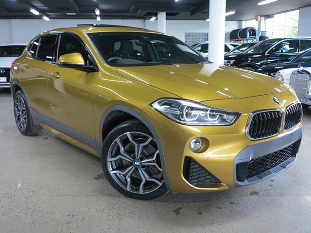 Used BMW X2 F39 sDrive20i Coupe DCT Steptronic M Sport X Albion, 2018 BMW X2 F39 sDrive20i Coupe DCT Steptronic M Sport X Galvanic Gold 7 Speed