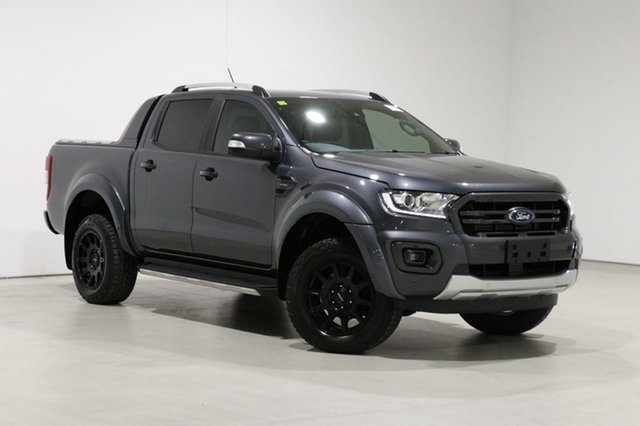 Used Ford Ranger PX MkIII MY19 Wildtrak 2.0 (4x4) Bentley, 2019 Ford Ranger PX MkIII MY19 Wildtrak 2.0 (4x4) Grey 10 Speed Automatic Double Cab Pick Up