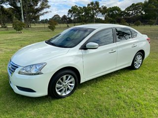 2015 Nissan Pulsar B17 Series 2 ST White 1 Speed Constant Variable Sedan