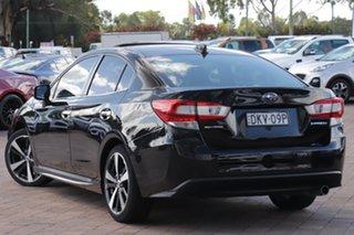 2016 Subaru Impreza G5 MY17 2.0i-S CVT AWD Black 7 Speed Constant Variable Sedan.