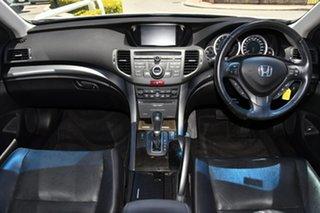2012 Honda Accord Euro CU MY12 Luxury Navi White 5 Speed Automatic Sedan.