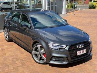 2020 Audi S3 8V MY20 Sportback S Tronic Quattro Daytona Grey 7 Speed Sports Automatic Dual Clutch.