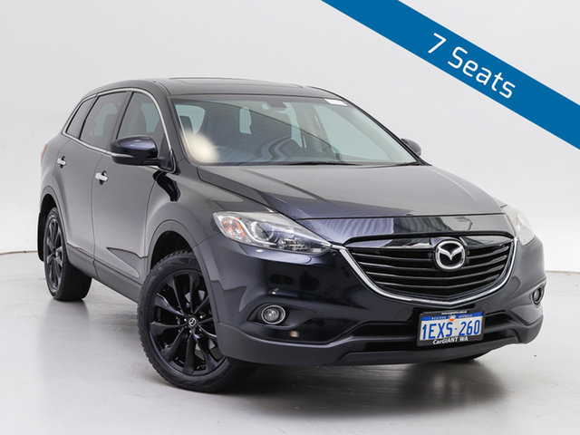 Used Mazda CX-9 MY14 Luxury, 2015 Mazda CX-9 MY14 Luxury Black 6 Speed Auto Activematic Wagon
