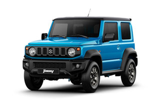 2020 Suzuki Jimny JB74 GLX Blue 4 Speed Automatic Hardtop