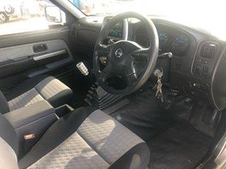 2006 Nissan Navara D22 ST-R (4x4) Silver 5 Speed Manual Cab Chassis.