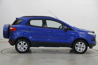 2017 Ford Ecosport BK Trend PwrShift Blue 6 Speed Sports Automatic Dual Clutch Wagon
