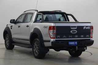 2017 Ford Ranger PX MkII FX4 Double Cab Silver 6 Speed Sports Automatic Utility