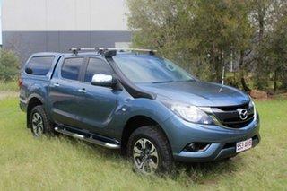 2016 Mazda BT-50 UR0YF1 XTR Blue 6 Speed Sports Automatic Utility.