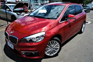 2014 BMW 2 Series F45 218i Active Tourer Steptronic Sport Line Red 6 Speed Automatic Hatchback.