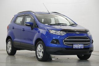 2017 Ford Ecosport BK Trend PwrShift Blue 6 Speed Sports Automatic Dual Clutch Wagon