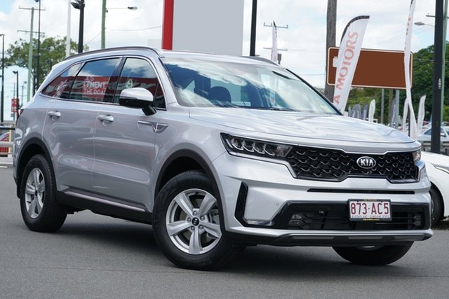 Demo Kia Sorento MQ4 MY21 S AWD Mount Gravatt, 2020 Kia Sorento MQ4 MY21 S AWD Silky Silver 8 Speed Sports Automatic Dual Clutch Wagon
