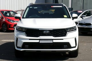 2021 Kia Sorento MQ4 MY21 GT-Line Snow White Pearl 8 Speed Sports Automatic Wagon