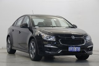 2016 Holden Cruze JH Series II MY16 SRI Z-Series Black 6 Speed Sports Automatic Sedan