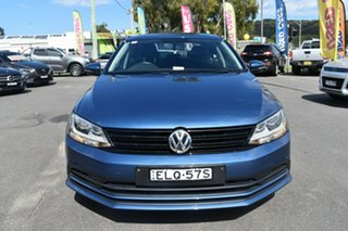 2015 Volkswagen Jetta 1B MY16 118TSI DSG Trendline Blue 7 Speed Sports Automatic Dual Clutch Sedan