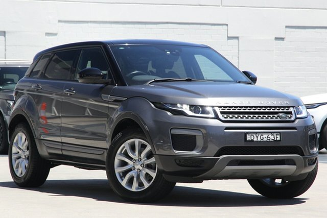 Used Land Rover Range Rover Evoque L538 MY17 HSE Brookvale, 2017 Land Rover Range Rover Evoque L538 MY17 HSE Grey 9 Speed Sports Automatic Wagon