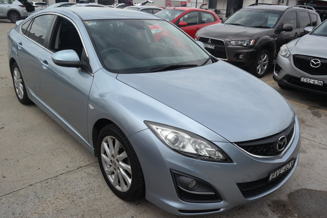 Used Mazda 6 GH1051 MY09 Classic Maryville, 2010 Mazda 6 GH1051 MY09 Classic Blue 5 Speed Sports Automatic Sedan