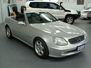 2003 Mercedes-Benz SLK-Class R170 SLK200 Kompressor Silver 5 Speed Automatic Roadster