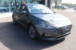 2020 Hyundai i30 PD.V4 MY21 Active Amazon Gray 6 Speed Sports Automatic Hatchback.