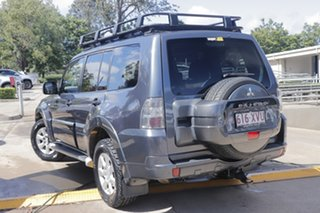 2010 Mitsubishi Pajero NT MY10 GLS Grey 5 Speed Sports Automatic Wagon