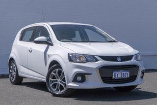 2018 Holden Barina TM MY18 LS White 5 Speed Manual Hatchback.