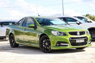 2015 Holden Ute VF MY15 SS V Ute Redline Hot House Green 6 Speed Manual Utility.