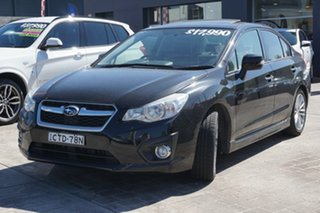 2014 Subaru Impreza G4 MY14 2.0i Lineartronic AWD Black 6 Speed Constant Variable Hatchback