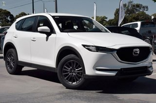 2020 Mazda CX-5 KF2W7A Maxx SKYACTIV-Drive FWD Sport White 6 Speed Sports Automatic Wagon.