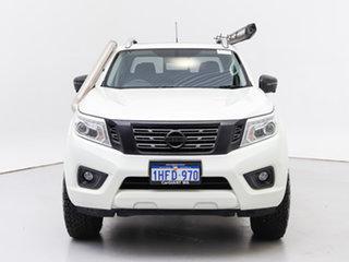 2019 Nissan Navara D23 Series 4 MY19 ST-X (4x4) White 6 Speed Manual Dual Cab Pick-up.