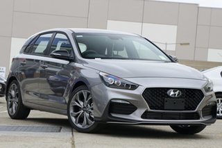 2021 Hyundai i30 PD.V4 MY21 N Line D-CT Grey 7 Speed Sports Automatic Dual Clutch Hatchback.