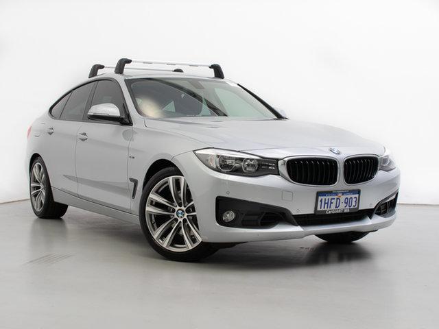 Used BMW 328i F34 MY14 Gran Turismo (Luxury), 2014 BMW 328i F34 MY14 Gran Turismo (Luxury) Silver 8 Speed Automatic Hatchback