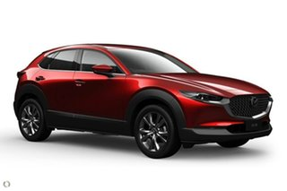 2020 Mazda CX-30 DM4WLA G25 SKYACTIV-Drive i-ACTIV AWD Astina Red 6 Speed Sports Automatic Wagon.